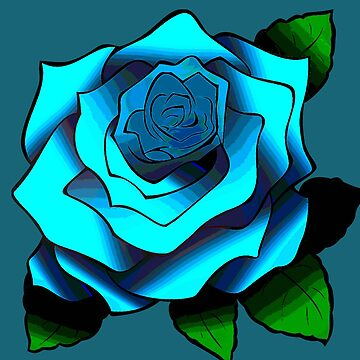BLUE ROSE by mimulux