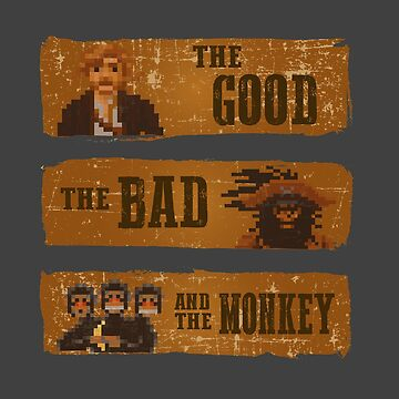 The good, the bad and the monkey by Caldofran
