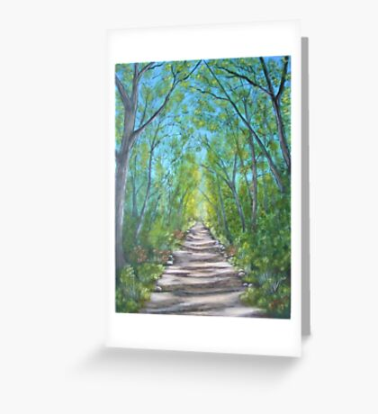 Deep inside the forest Greeting Card