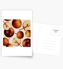 Vintage Apples Print Postcards