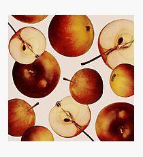 Vintage Apples Print Photographic Print