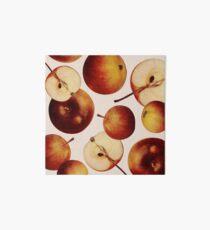 Vintage Apples Print Art Board