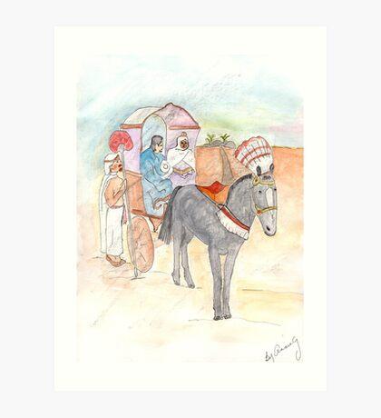 Philip and the Ethiopian Art Print