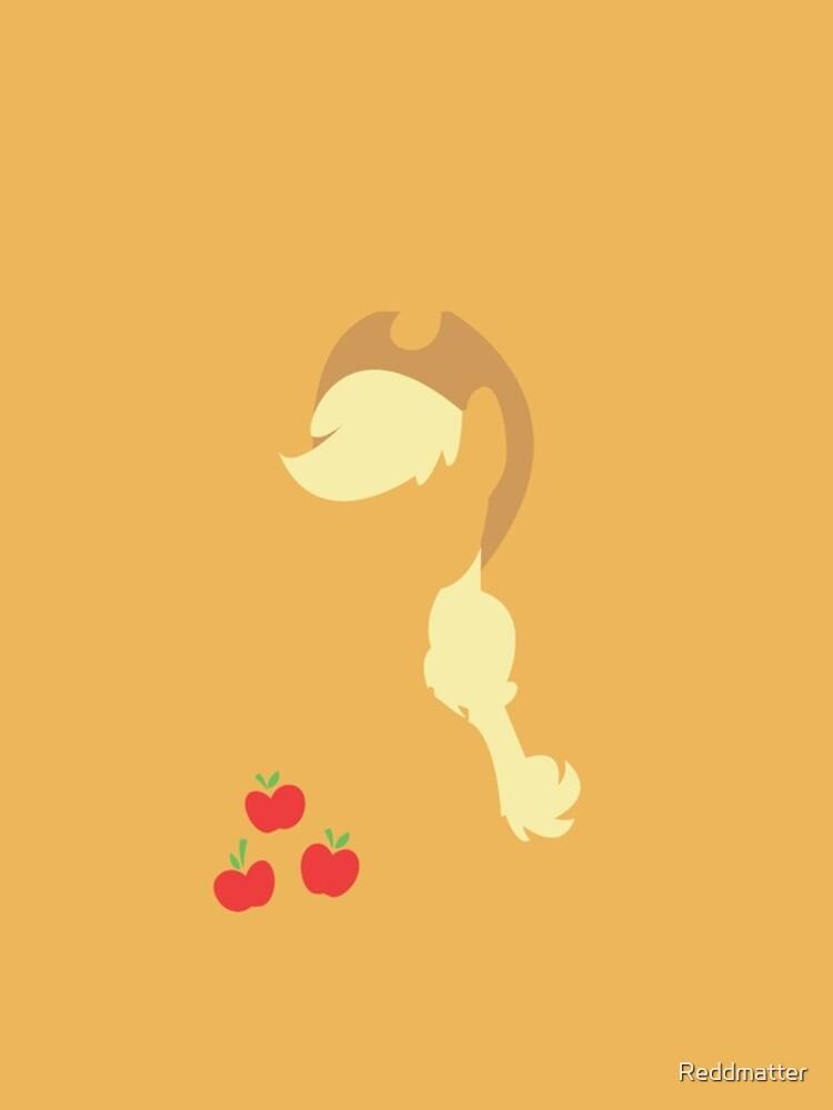 Apple Jack Silhouette by Reddmatter