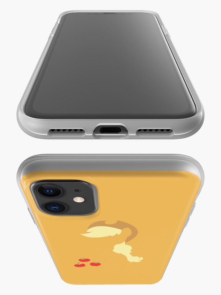 Alternate view of Apple Jack Silhouette iPhone Case & Cover