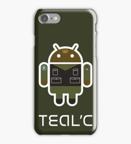 Droidarmy: Teal'c SG-1 iPhone Case/Skin