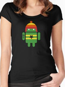 Droidarmy: Browncoat Women's Fitted Scoop T-Shirt