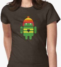 Droidarmy: Browncoat Womens Fitted T-Shirt
