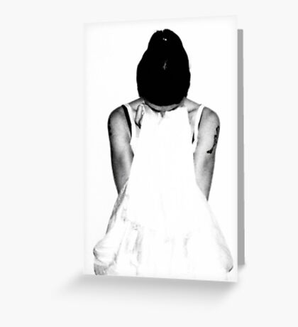 What Good is a Wedding Dress if you Can't Blow your Nose on It? Greeting Card