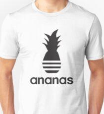 Ananas-Parodie-Logo Slim Fit T-Shirt