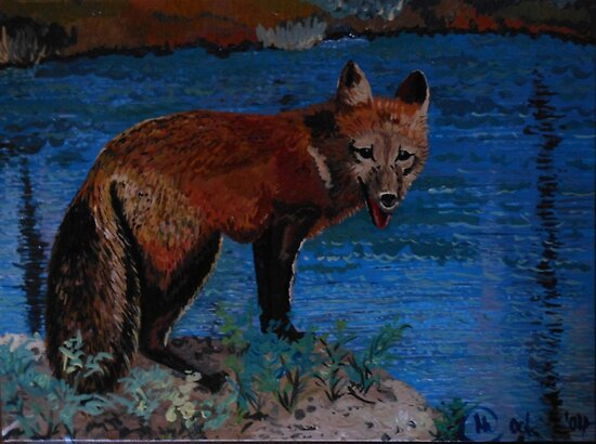 Mischievous, As In Fox by Kashmere1646