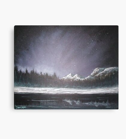 Winters Night Canvas Print