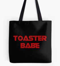 Toaster Babe Tote Bag