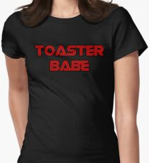 Toaster Babe Women's Fitted T-Shirt