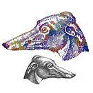«Perro de huecograbado» de JoAyaki