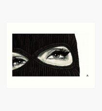 Mask On Art Print