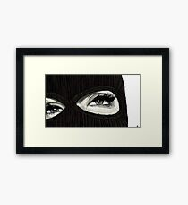 Mask On Framed Print