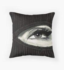 Mask On Throw Pillow