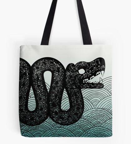 Sea Dragon Loch Ness Tote Bag