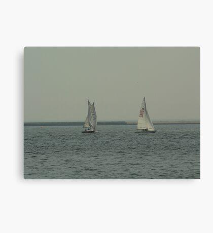 Sailing on Lake Michigan Canvas Print