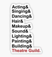 CCHS Theatre Guild  Sticker