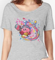 Kirby is a true artist Women's Relaxed Fit T-Shirt