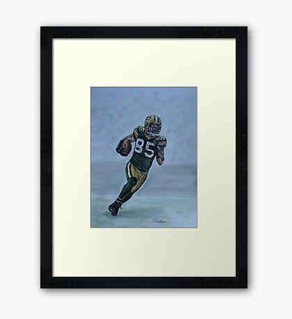 Jennings on the run Framed Print