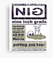 Nine Inch Grails Canvas Print