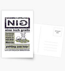 Nine Inch Grails Postcards