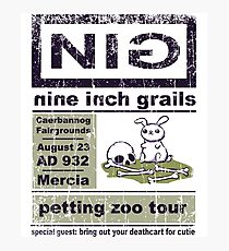 Nine Inch Grails Photographic Print