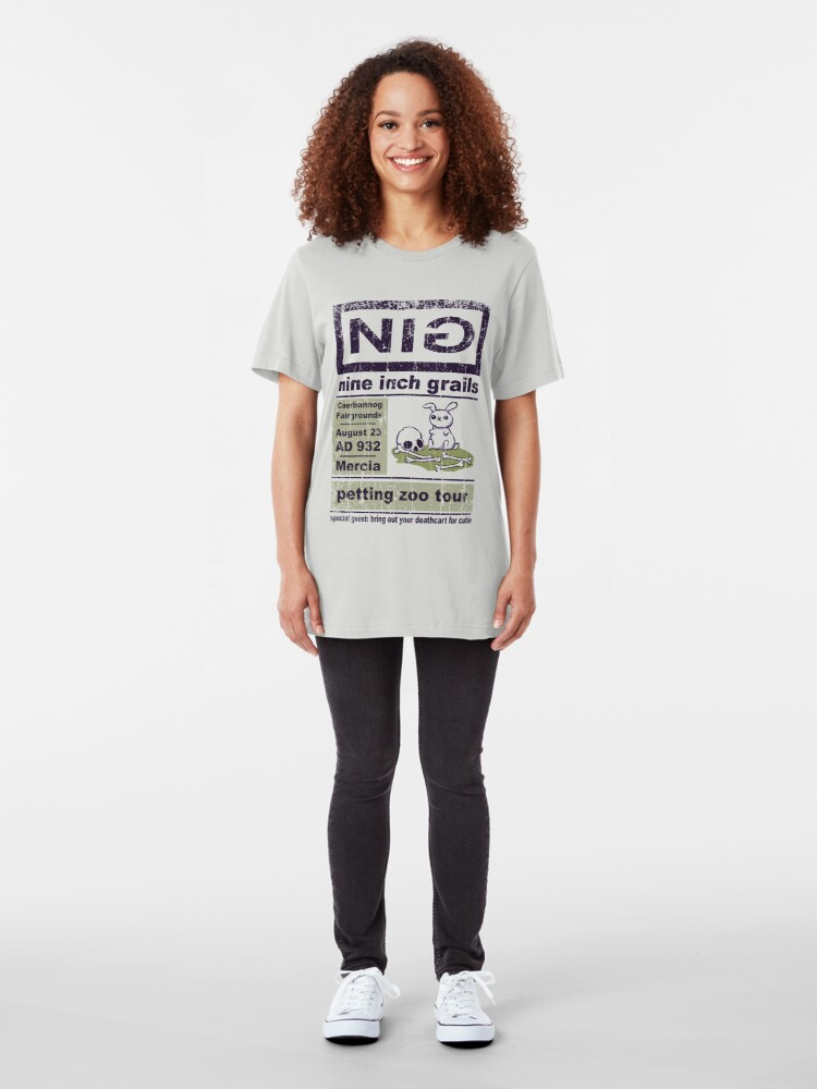 Alternate view of Nine Inch Grails Slim Fit T-Shirt