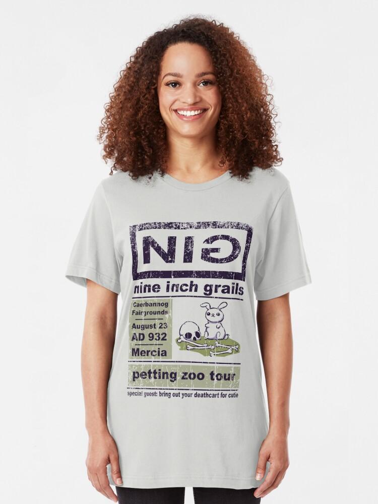 Alternate view of Nine Inch Grails Slim Fit T-Shirt