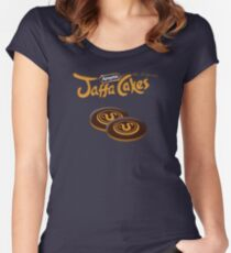 Apophis Jaffa Cakes Women's Fitted Scoop T-Shirt