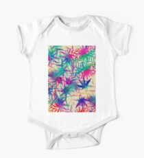 Tropical Jungle - a watercolor painting One Piece - Short Sleeve