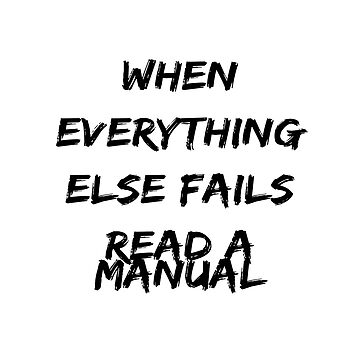 Read a manual by Ankee