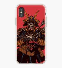 Vinilo o funda para iPhone Samurai muerto
