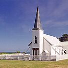 Anglican Church, Raokokore, New Zealand by Adrian Paul