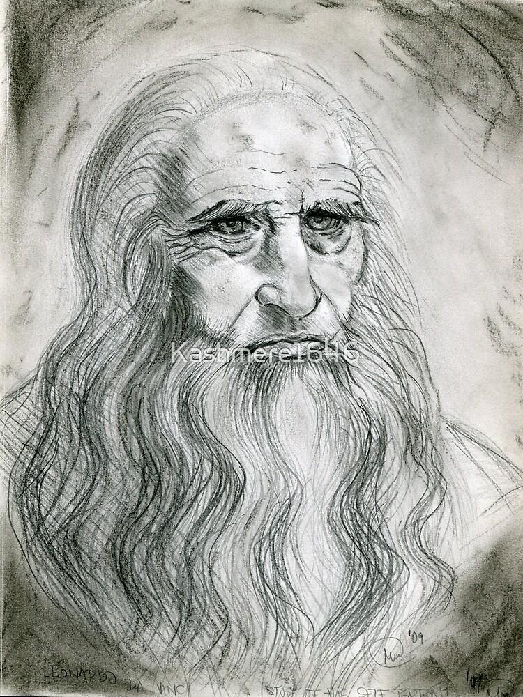 Leonardo DaVinci by Kashmere1646