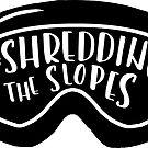Shredding the slopes by ApricotBlossom