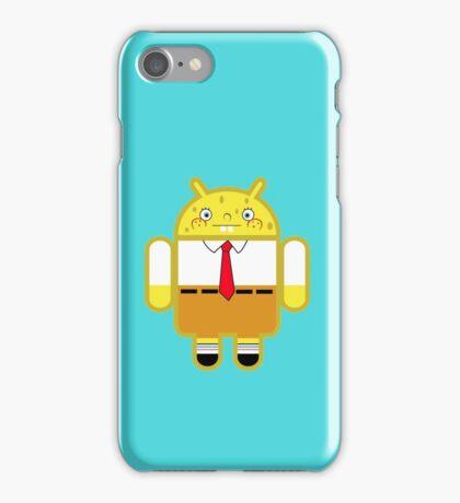 Droidarmy: Spongedroid Squarepants iPhone Case/Skin