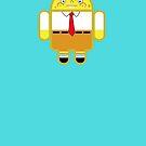 Droidarmy: Spongedroid Squarepants by Nana Leonti