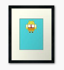 Droidarmy: Spongedroid Squarepants Framed Print
