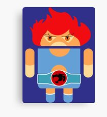 Droidarmy: Thunderdroid Lion-o no text Canvas Print