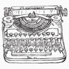 Newfangled writey machine by averyboringname