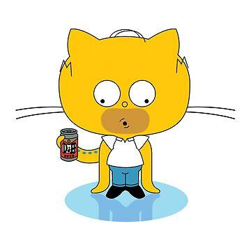 ★ Freaky Github octocat by cadcamcaefea