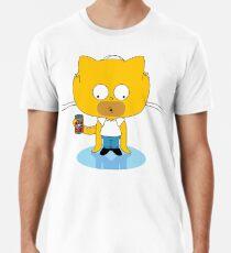 ★ Freaky Github octocat Men's Premium T-Shirt