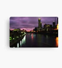 Melbourne 1988 .. ish Canvas Print