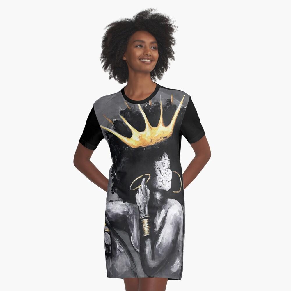 Natürlich Königin VI T-Shirt Kleid