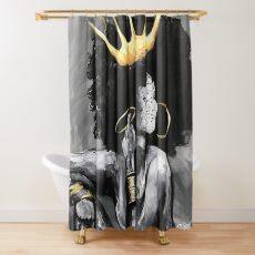 Natürlich Königin VI Duschvorhang