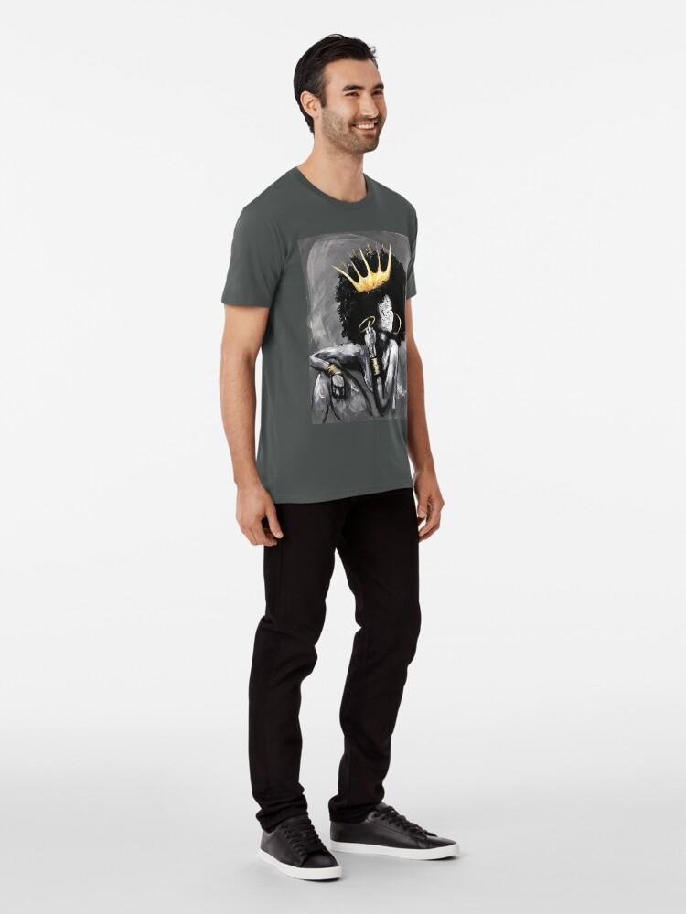 Alternative Ansicht von Natürlich Königin VI Premium T-Shirt